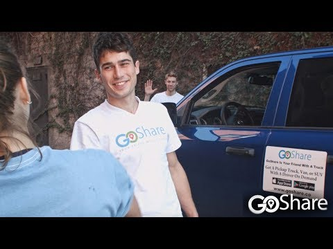Earn Money Driving Your Truck or Van with GoShare