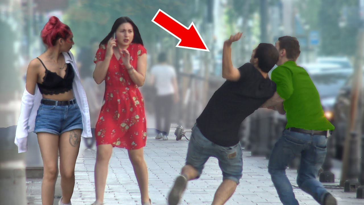 🔥 Invisible Object Falling from Building - FALLING OBJECT PRANK! 🔥