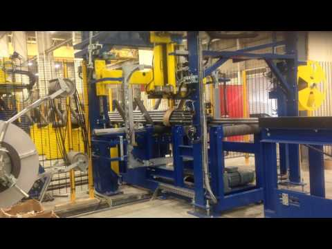 Tubes and Pipes Strapping Machines