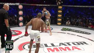 Bellator 190: Rafael Carvalho vs. Alessio Sakara - KO Moment!