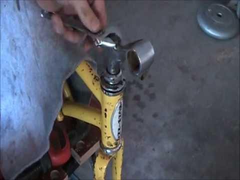 Schwinn Stingray Fork Removal Tutorial