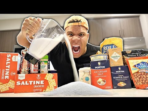 SALTIEST DRINK IN THE WORLD CHALLENGE (EXTREMELY DANGEROUS)