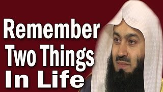 Live Your Life &  Prepare For The After Life | Mufti Menk