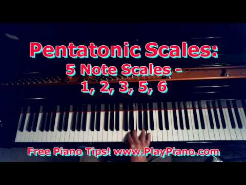 Pentatonic Scales: The Easiest Of All Scales!