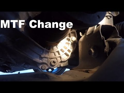 9th Gen Civic Si Manual Transmission Fluid Change