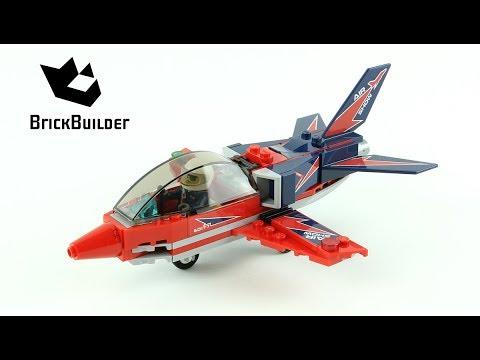 Lego City 60177 Airshow Jet - Lego Speed Build