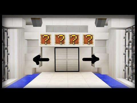 How to Make a SECRET Door COMBINATION PASSWORD in Minecraft!