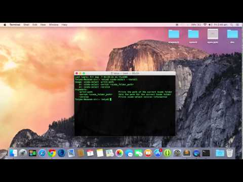 Install Homebrew on Mac OS X Package Manager