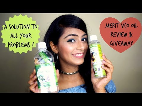 Merit VCO Extra Virgin Coconut Oil Review + 5K Subscribers Giveaway(Closed)