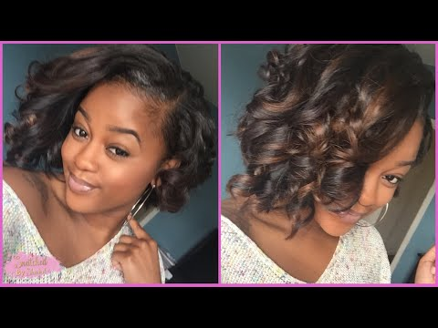How I Curl/Style My Bob