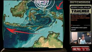 1/17/2017 -- Nightly Earthquake Update + Forecast -- FAILED / Canceled Warnings / watches