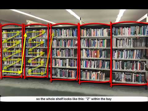 How to find a physical book in the library