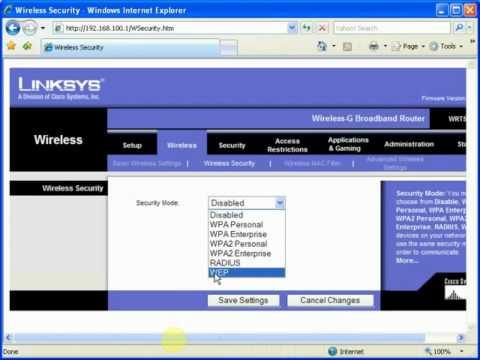 SSID+WPA Linksys.flv