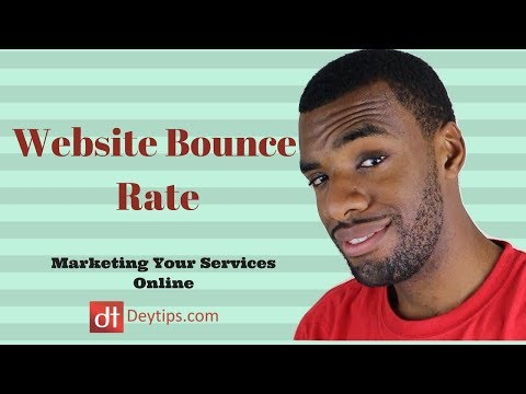 What Is Website Bounce Rate & Reducing Website Bounce Rate