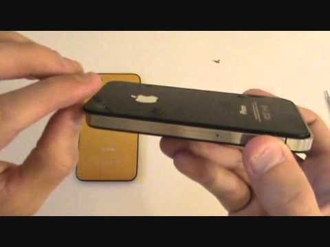 iPhone 4 Glass Replacement Remove Back Cover Tutorial | GadgetMenders.com