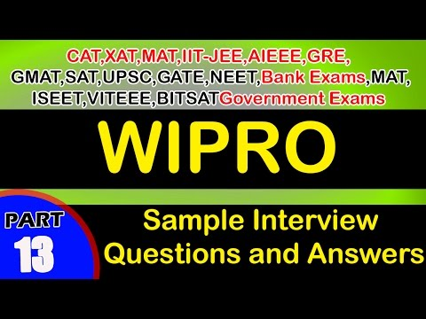 Wipro-13 Interview Questions and Answers videos Freshers Experienced careers jobs