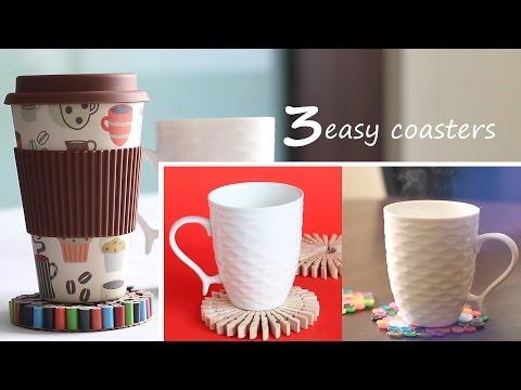 3  Easy Coasters