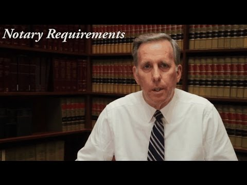 Role of the Notary Public in Indiana
