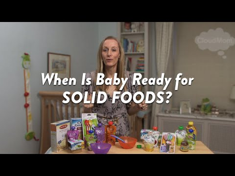 When Is Baby Ready for Solid Foods? | CloudMom