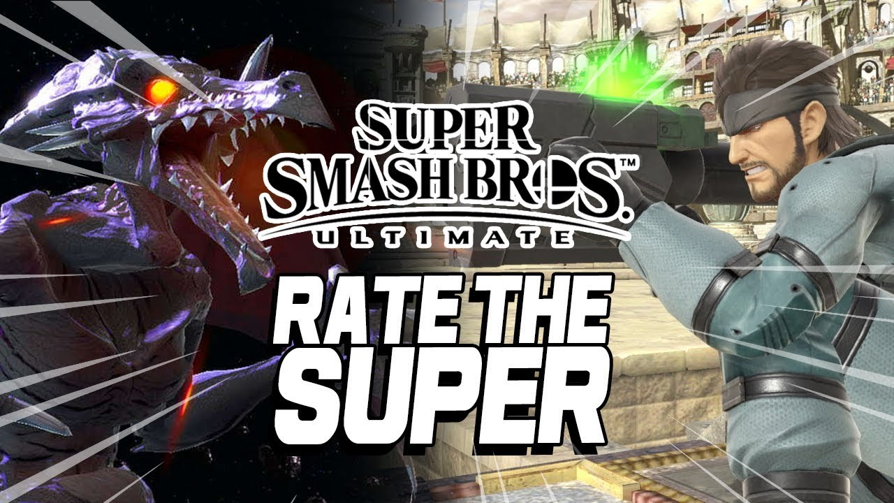 RATE THE SUPER: Super Smash Bros. Ultimate