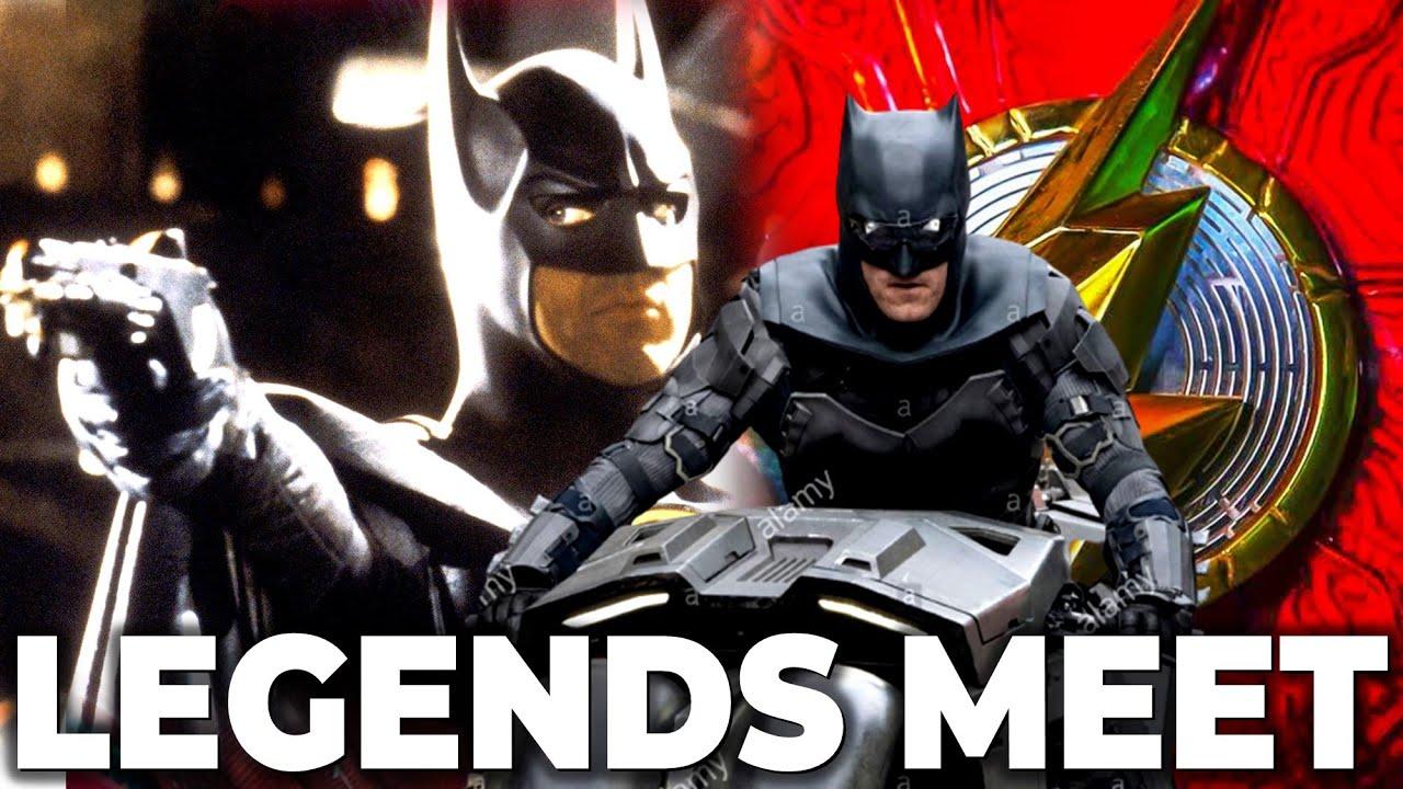 Batman Meeting Batman In THE FLASH   James Gunn Has Another DC Movie