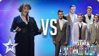 Susan Boyle vs Collabro | Britain's Got Talent World Cup 2018