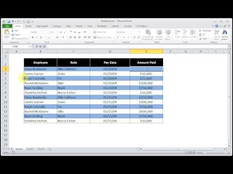 How to Format Currency and Accounting In Microsoft Excel 2010