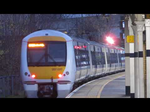 C2C Class 357037 Departures Barking for London Fenchurch Street