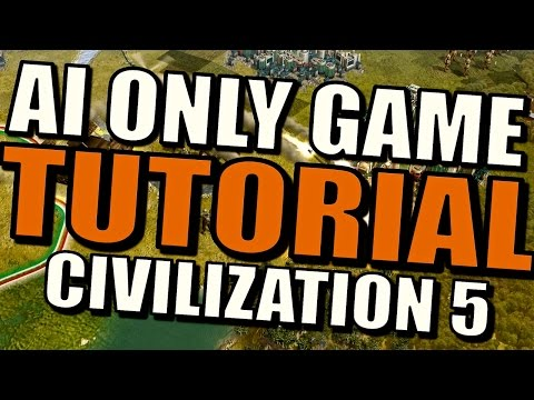 Civilization 5 Tutorial - How to Make an AI Only Battle? [Spectator Mod]