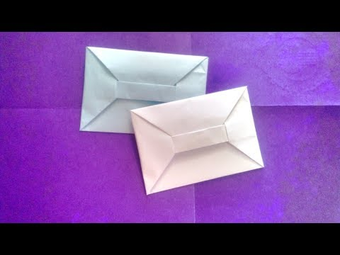 Easy Origami Paper Envelope / How to Make at Home in Hindi