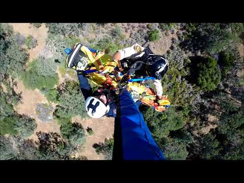 Sheriff's Office STARR 3 Helicopter Rescues Injured Horseback Rider