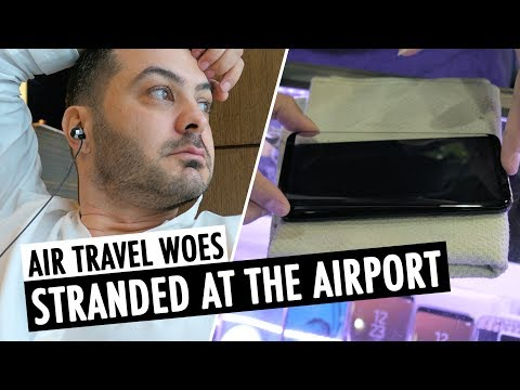 Air Travel Woes & Tempered Glass For Galaxy S8+ | RehaAlev
