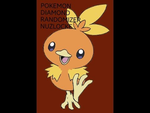 Pokemon Diamond Randomizer Nuzlocke:Part 1 TORCHIC I CHOOSE YOU!