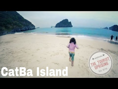 Hanoi to Halong Bay, Vietnam + things to do on Cat Ba Island! (budget family travel tips)