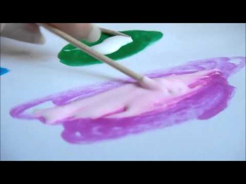 How to make home made paint 10 year old style!
