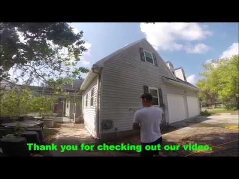Vinyl siding, soft wash house cleaning in Pasco & Hernando county.