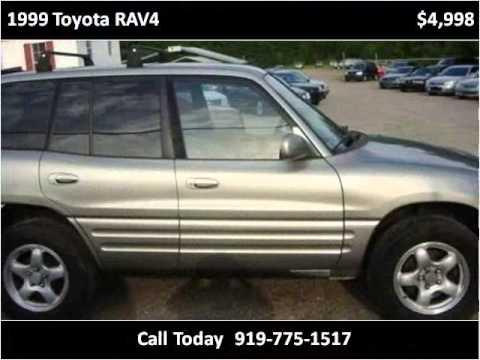 1999 Toyota RAV4 Used Cars Sanford NC