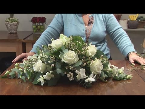 How To Do A Funeral Flower Arrangement