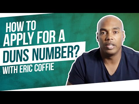 How to Apply for a DUNS Number