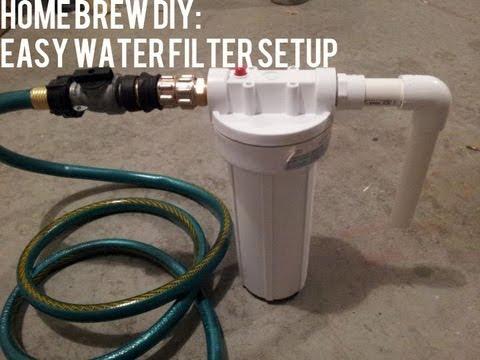 Homebrew DIY: Easy Water Filter Setup   Beer Geek Nation Beer Reviews