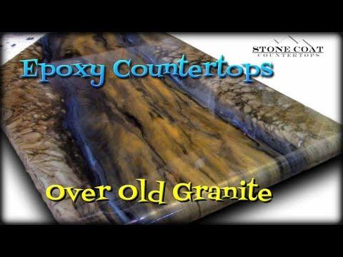 Epoxy Countertops Over old Granite