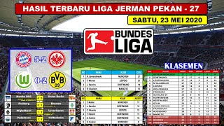 Hasil Liga Jerman Tadi Malam Pekan Ke 27 ~ Wolfsburg VS Dortmund Bundesliga 2020