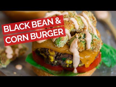 Black Bean & Corn Veggie Burger Recipe