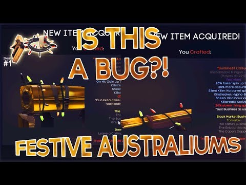 Tf2: Did Valve Mean To Do This? (Festive Australiums In Smissmas Update)
