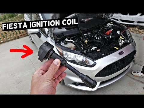 FORD FIESTA IGNTION COIL REPLACEMENT MK7 ST