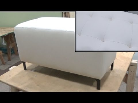 HOW TO UPHOLSTER A SMALL BENCH - ALO Upholstery