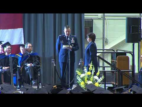Commencement - Spring 2018 - ROTC Commissioning