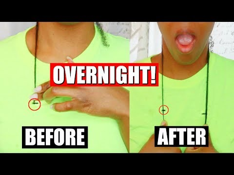 GROW NATURAL HAIR OVERNIGHT😱🙌🏾 // 1INCH IN 12HRS **NOT CLICKBAIT**