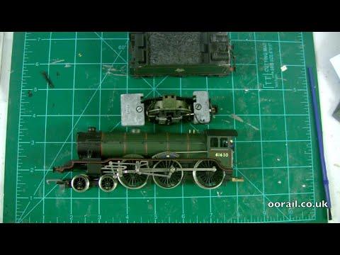 oorail.com | Hornby Railways B17 Quick Locomotive Servicing - OO Gauge Ringfield Motor