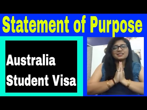 Australia Student Visa SOP, Statement of Purpose- Why SOP is important?